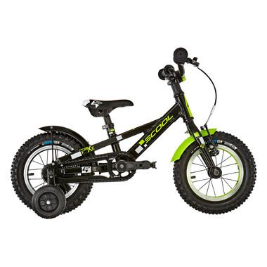 """Vélo Enfant S'COOL FAXE Alu 12"""" Noir/Jaune 2020"""